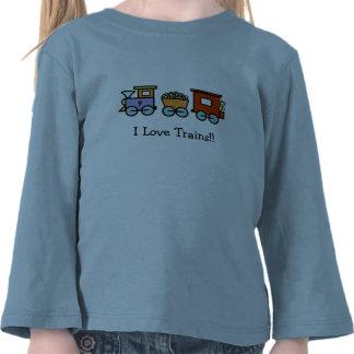 Amo la camisa de los trenes