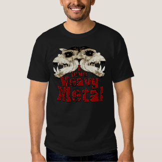 Amo la camisa de metales pesados