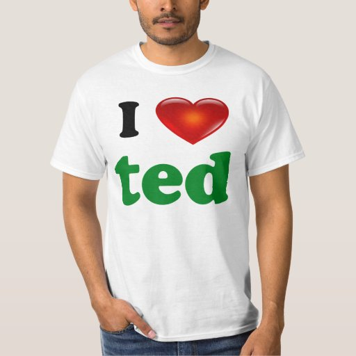 Amo la camisa de Ted