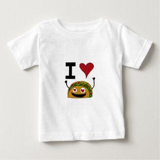 Amo la camisa del bebé del Taco