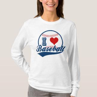 Amo la camisa del béisbol