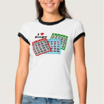 Amo la camisa del bingo