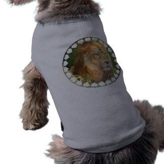 Amo la camisa del mascota de los leones camisas de perritos