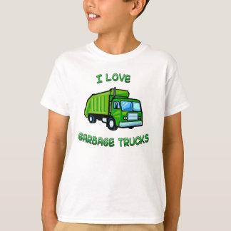 Amo la camisa del niño de los niños de los
