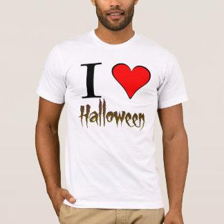 Amo la camiseta básica de Halloween American
