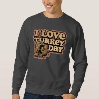 Amo la camiseta básica del día de Turquía