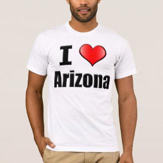 Amo la camiseta de Arizona - hombres