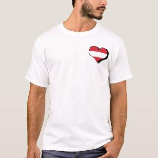 Amo la camiseta de Austria
