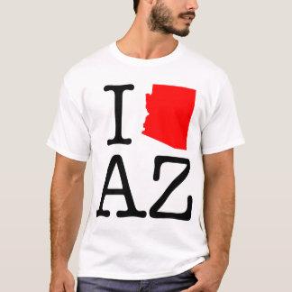 Amo la camiseta de AZ Arizona
