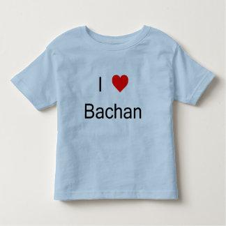 Amo la camiseta de Bachan Poleras