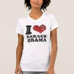 Amo la camiseta de Barack Obama