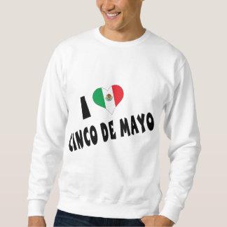 Amo la camiseta de Cinco de Mayo Suéter