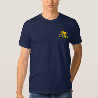 Amo la camiseta de CND Poleras