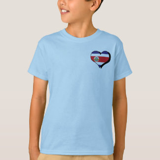 Amo la camiseta de Costa Rica Polera