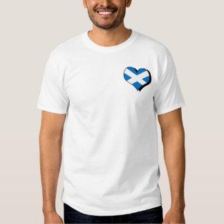 Amo la camiseta de Escocia Playeras