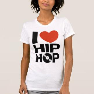 AMO la camiseta de HIP HOP (las mujeres) Remera