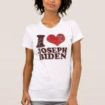 Amo la camiseta de José Biden Playeras