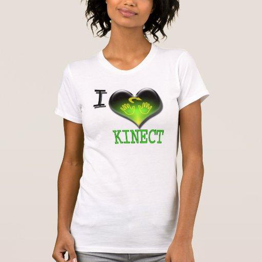 Amo la camiseta de Kinect