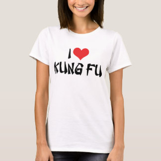 Amo la camiseta de Kung Fu