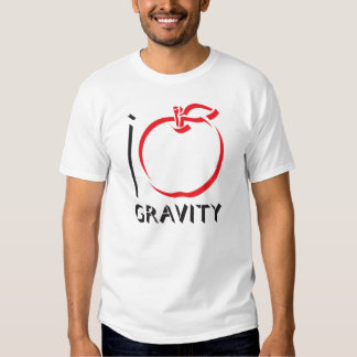 AMO la camiseta de la GRAVEDAD Playera