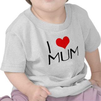 Amo la camiseta de la momia
