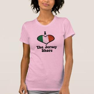 Amo la camiseta de la orilla del jersey