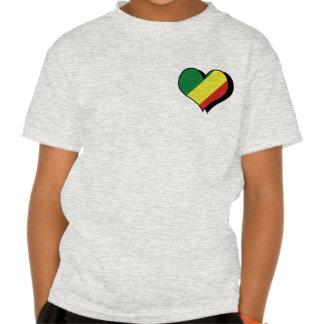 Amo la camiseta de la república de Congo