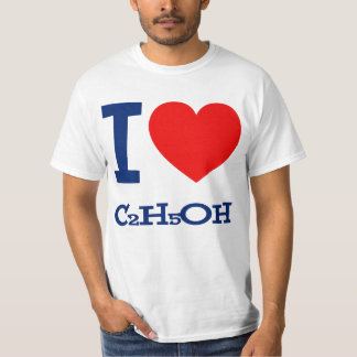 Amo la camiseta de la vodka