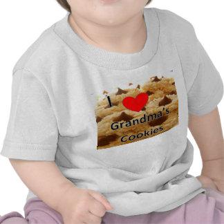 Amo la camiseta de las galletas de la abuela