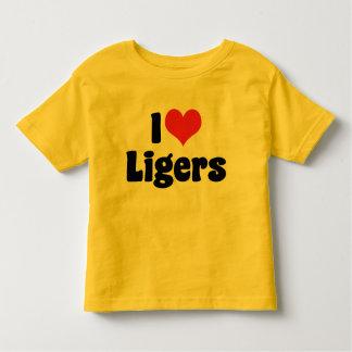 Amo la camiseta de Ligers Playeras