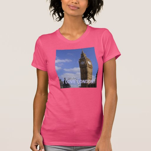 AMO la camiseta de LONDRES