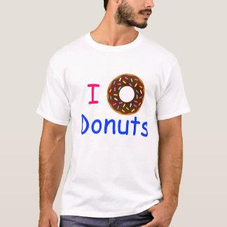 Amo la camiseta de los anillos de espuma