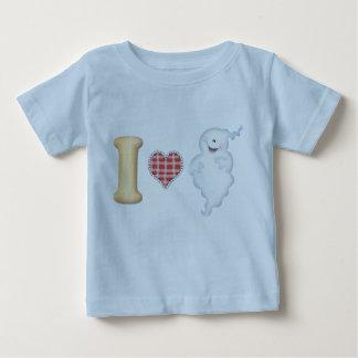 Amo la camiseta de los fantasmas
