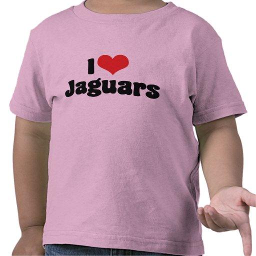 Amo la camiseta de los jaguares