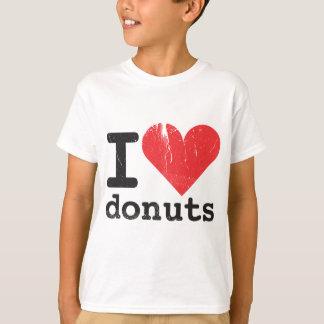 Amo la camiseta de los niños de los anillos de