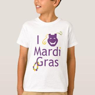 Amo la camiseta de los niños del carnaval