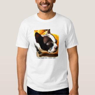 Amo la camiseta de los terrieres de Boston Polera