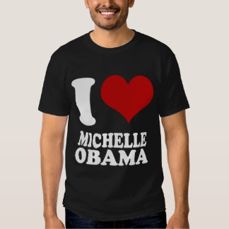 Amo la camiseta de Michell Obama Camisas