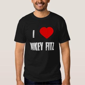 Amo la camiseta de Mikey Fitz Polera