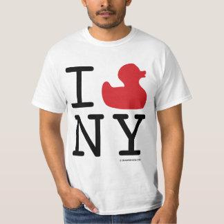 Amo la camiseta de NY Playera