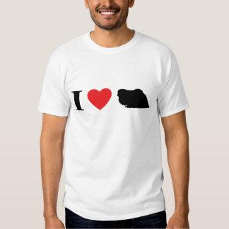Amo la camiseta de Pekingese Polera