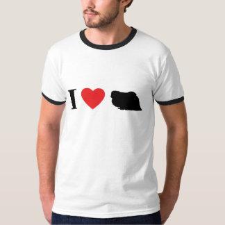 Amo la camiseta de Pekingese Poleras