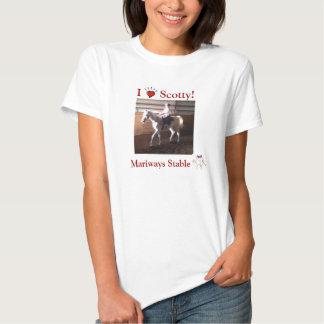 Amo la camiseta de Scotty Polera