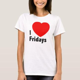 Amo la camiseta de viernes