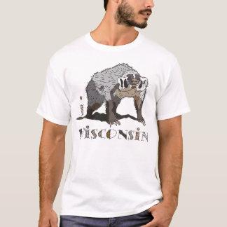 AMO la camiseta de WISCONSIN