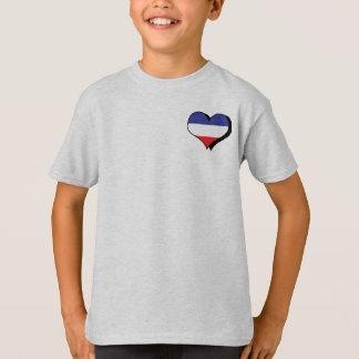 Amo la camiseta de Yugoslavia Polera