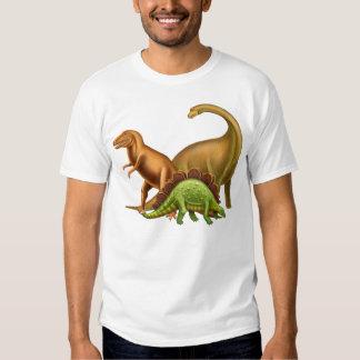 Amo la camiseta del adulto de los dinosaurios playera