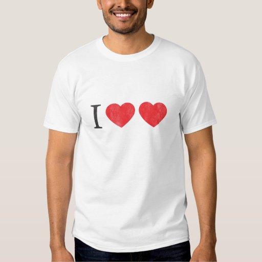 Amo la camiseta del amor - modificada para playera