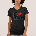 Amo la camiseta del baloncesto