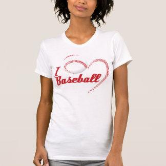 Amo la camiseta del béisbol